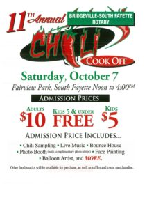 11th Annual Chili Cookoff @ Fairview Park | Pennsylvania | United States